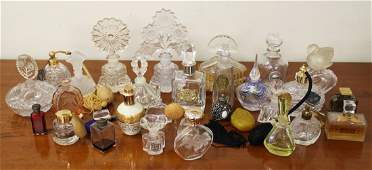 VINTAGE PERFUME BOTTLE COLLECTION