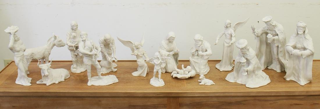 BOEHM NATIVITY SET - 16 PIECES