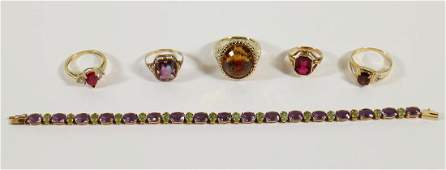 10K  14K GOLD JEWELRY COLLECTION