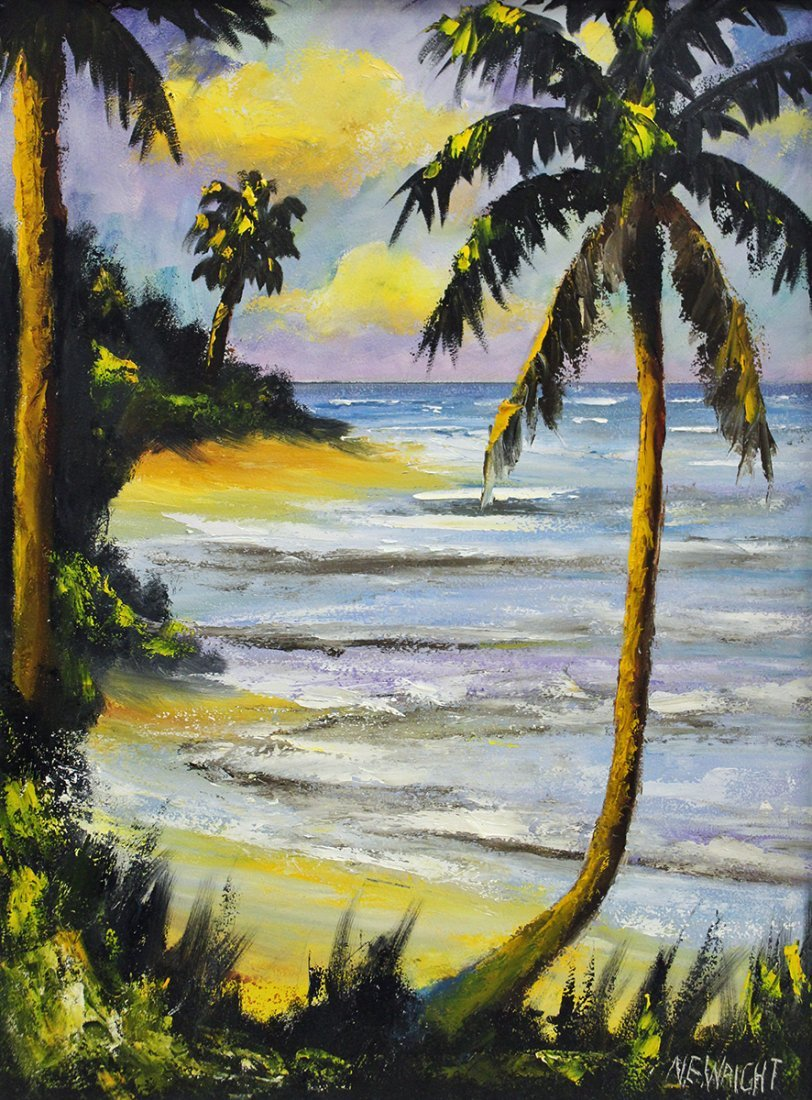 NORMAN WRIGHT FLORIDA PAINTING