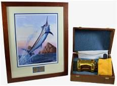 PENN 50 VSW INTERNATIONAL FISHING REEL 75TH &LITHO