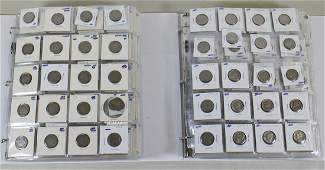 U.S. COIN COLLECTION - NICKEL PENNY DIME QUARTER