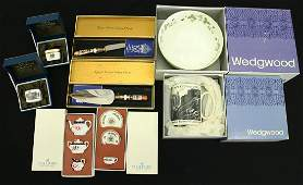 ROYAL CROWN DERBY, WEDGWOOD, & MORE COLLECTION