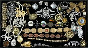COSTUME & STERLING JEWELRY COLLECTION