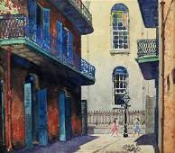 CHARLES LONGABAUGH NEW ORLEANS PAINTING