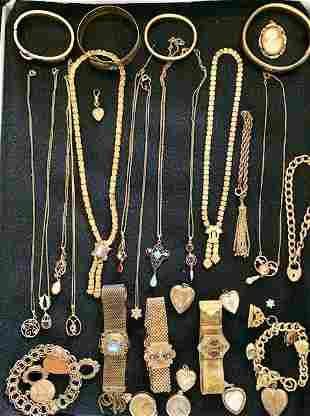 VICTORIAN GOLD FILLED JEWELRY