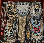 VINTAGE COSTUME JEWELRY NECKLACES & MORE