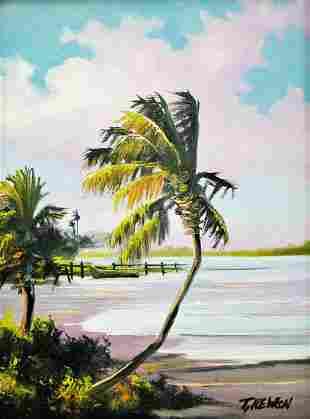TRACY NEWTON FLORIDA PAINTING