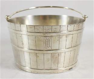 MAUSER STERLING SILVER ICE BUCKET