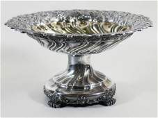 TIFFANY & CO COLUMBIAN EXPOSITION STERLING COMPOTE