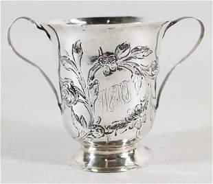 1787 GEORGIAN STERLING SILVER LOVING CUP