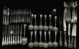 STERLING & SILVERPLATE FLATWARE COLLECTION