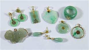 14K JADE JEWELRY COLLECTION