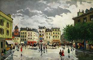 A. DE FLEURY FRENCH PAINTING