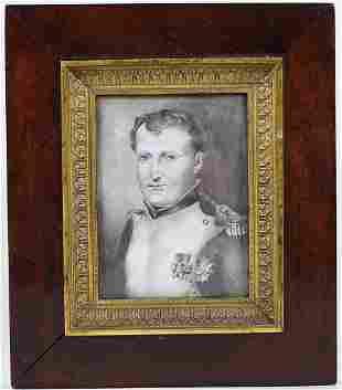 19TH CENTURY SMALL NAPOLEON PORTRAIT
