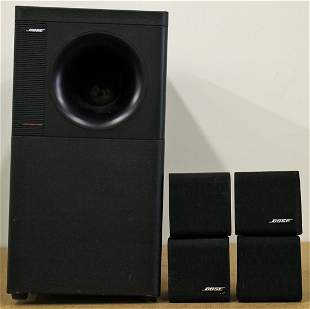 BOSE ACOUSTIMASS 5 SERIES II SPEAKERS