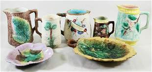 MAJOLICA POTTERY COLLECTION