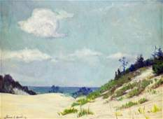 FRANK DUDLEY SAND DUNE PAINTING