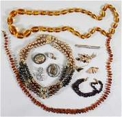 VINTAGE GOLD, SILVER, & COSTUME JEWELRY
