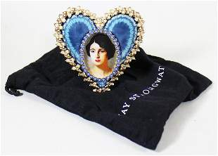 JAY STRONGWATER HEART PICTURE FRAME