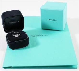 TIFFANY & CO 1.55 CARAT DIAMOND ENGAGEMENT RING