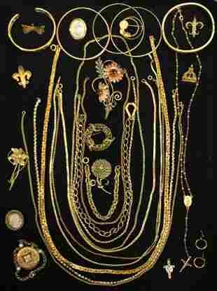 VINTAGE GOLD FILLED JEWELERY