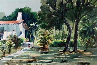 FARRELL YESNER WATERCOLOR PAINTING