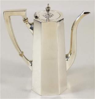 TIFFANY & CO. STERLING COFFEE POT