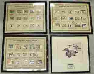 MIGRATORY BIRD HUNTING STAMP COLLECTION