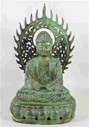 METAL BUDDHA FIGURE