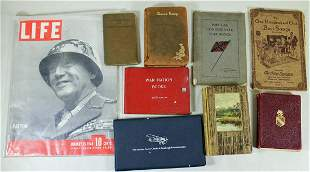 CONFEDERATE WAR SONGS, BOOKS & EPHEMERA