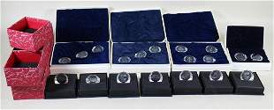 SWAROVSKI CRYSTAL FOREIGN COUNTRY PAPERWEIGHTS