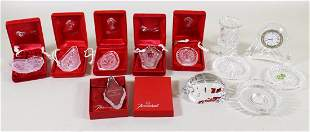 WATERFORD & BACCARAT CRYSTAL COLLECTION