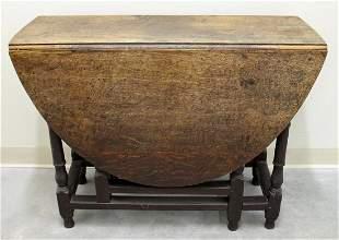 18TH CENTURY GATE LEG TABLE
