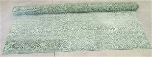 """LARGE HAND KNOTTED RUG - 19' 3"""" x 11'"""