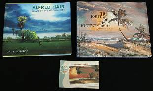 (2) HIGHWAYMEN ART BOOKS & POSTCARDS