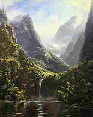 IVAN CLARKE NEW ZEALAND LANDSCAPE