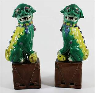 (2) CHINESE FOO DOGS