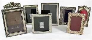 (8) STERLING SILVER PICTURE FRAMES