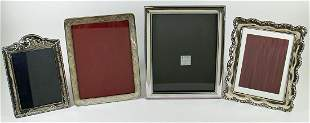 (4) STERLING SILVER PICTURE FRAMES