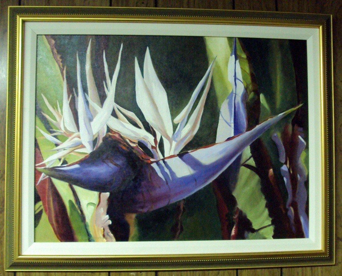 21: Karen Leffel-Massengill Oil on Canvas