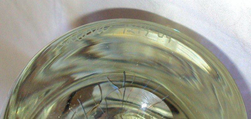 25: Rick Satava Art Glass Jellyfish - 5
