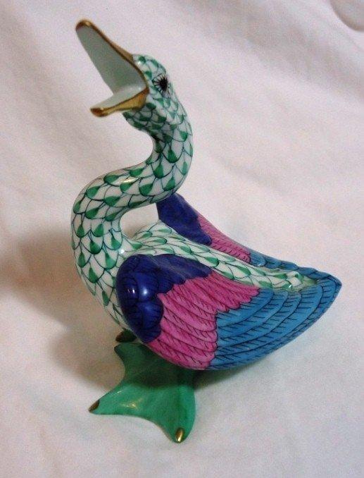 7: Fishnet Herend Wild Duck