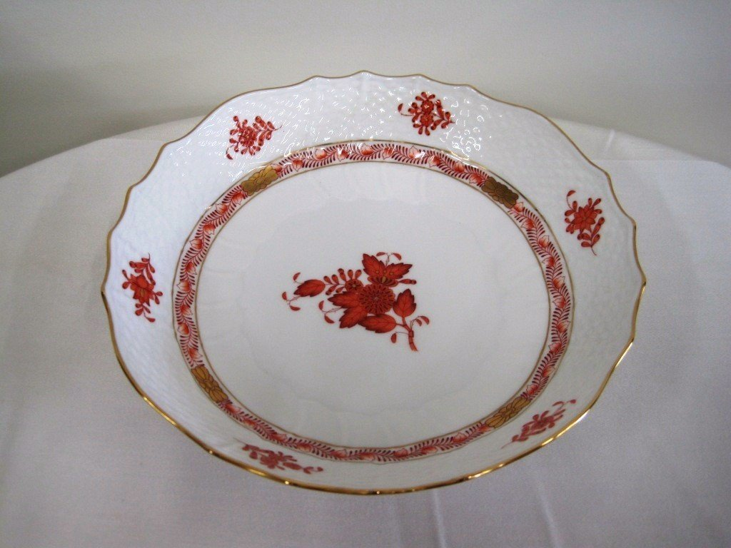 21: Herend Chinese Bouquet Bowl