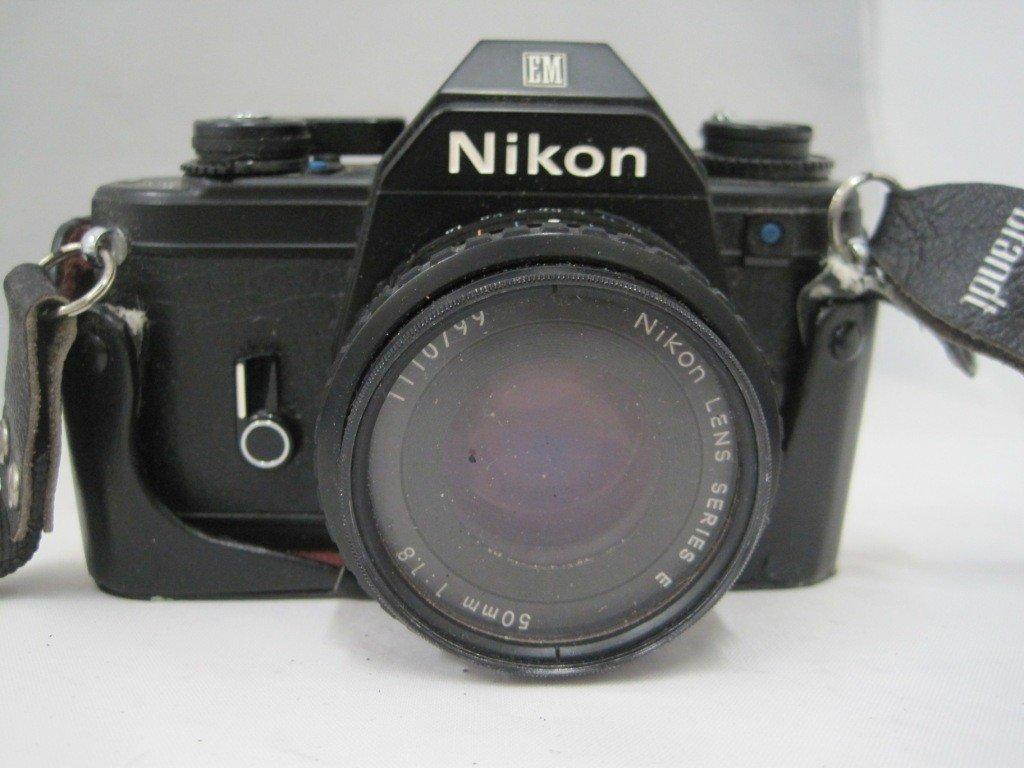 197A: Nikon EM M90 Camera w/ 50MM Lens - 2