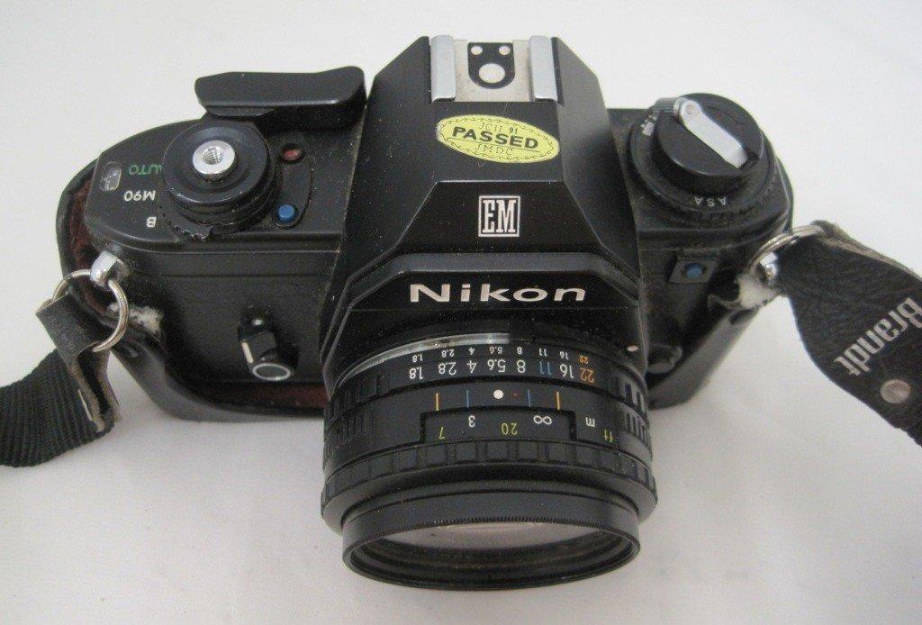 197A: Nikon EM M90 Camera w/ 50MM Lens - 3