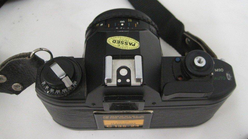 197A: Nikon EM M90 Camera w/ 50MM Lens - 4