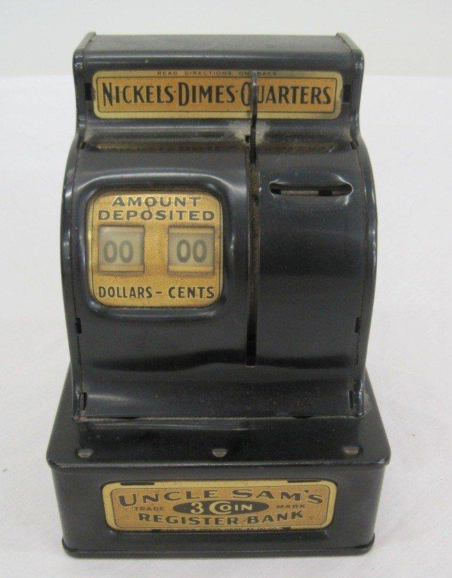 3: Uncle Sam's Coin Register Bank