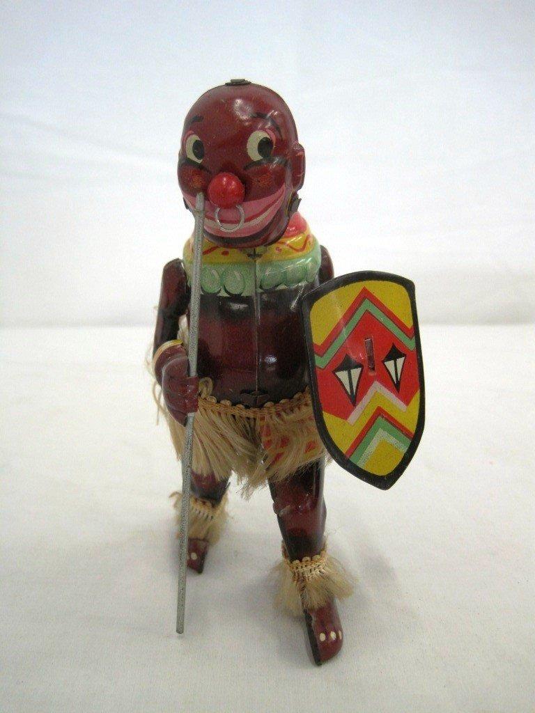 3A: Pango Pango African Wind Up Toy