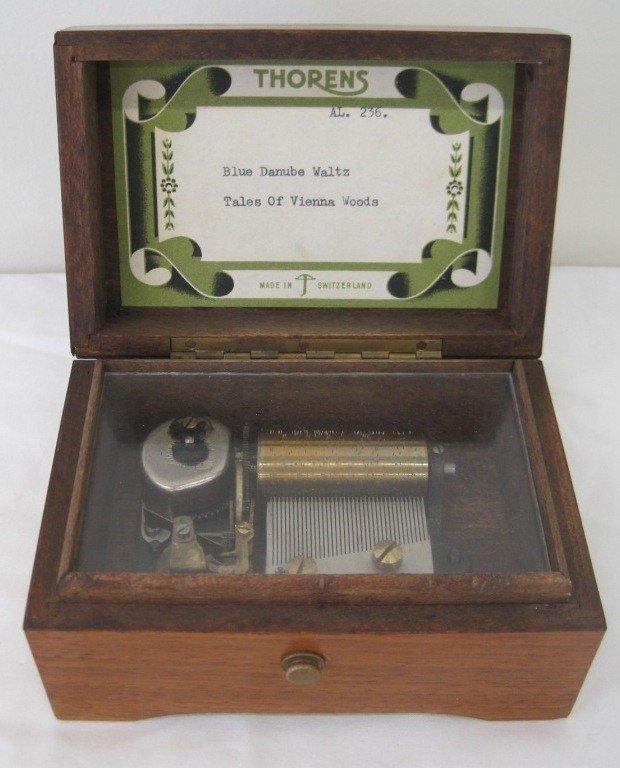 6: Thorens Music Box - Swiss